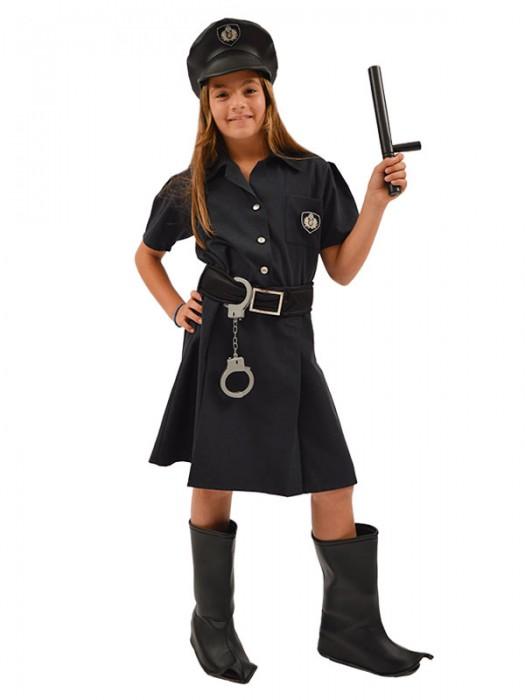 Αποκριάτικη Στολή για Κορίτσι Αστυνομικίνα