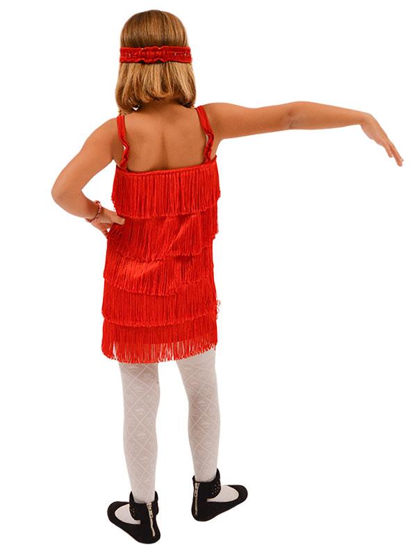 Αποκριάτικη Στολή για Παιδιά Τσάρλεστον (κόκκινο)