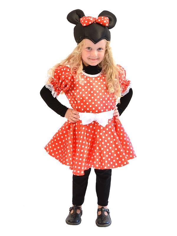 Μινι Μαους (Minnie Mouse) - Παιδικη Αποκριατικη Στολη 9506ddad2d7