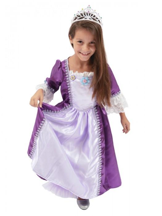 Παιδική Αποκριάτικη Στολή Πριγκίπισσα-Σίσσυ Μωβ