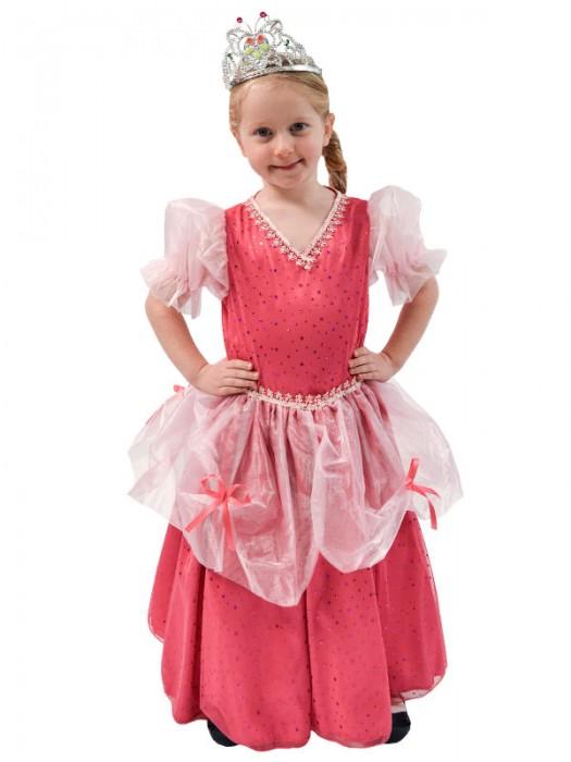 Πριγκίπισσα, Αποκριάτικη Στολή (φούξια χρώμα)
