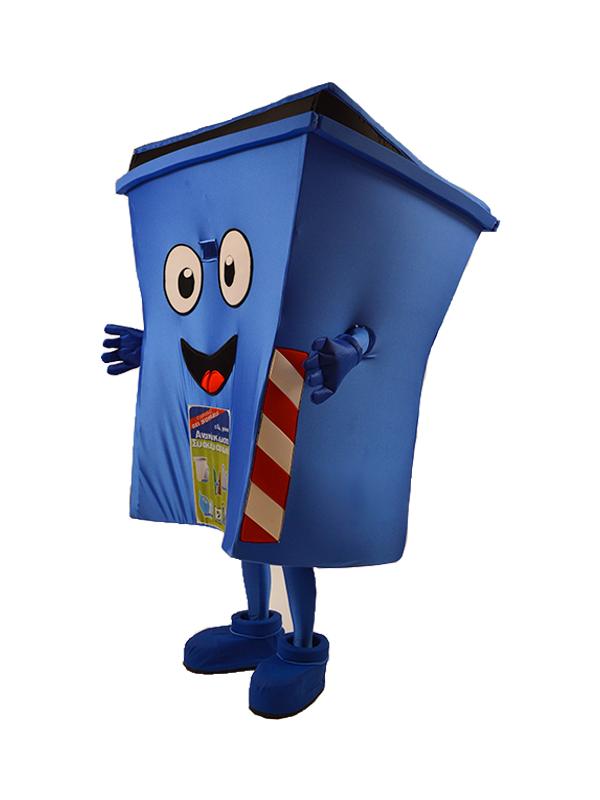 Μασκώτ Κάδος Ανακύκλωσης Συσκευασιών