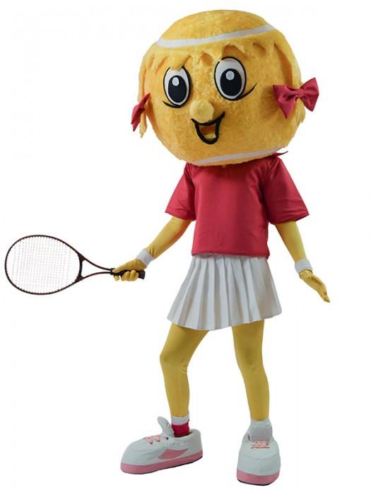 Tennis Girl, Μασκώτ