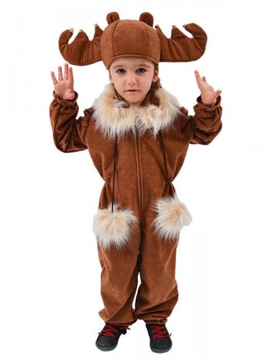 Χριστουγεννιάτικη Στολή Ελαφάκι για παιδιά