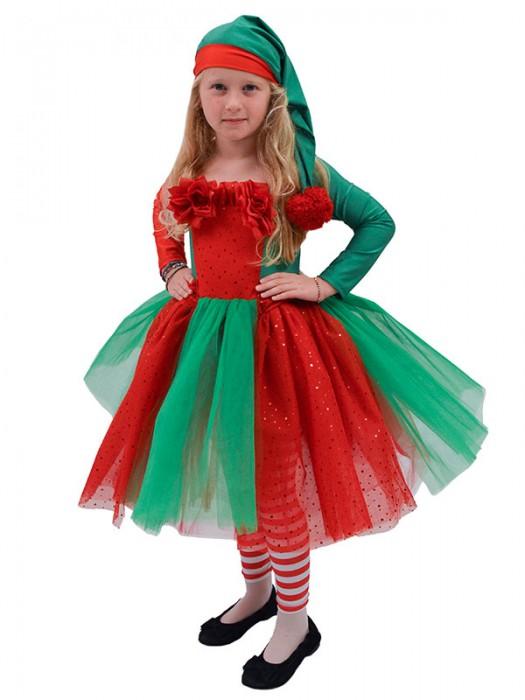 Στολή Χριστουγεννιάτικη Ξωτικό για κοριτσάκι